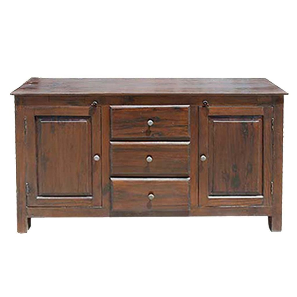 Lincoln Solid Wood 2 Cabinet 3 Drawer Dining Room Sideboard