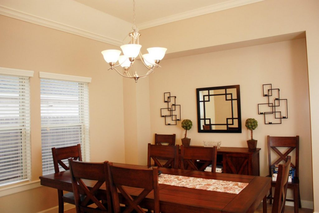 Living Dining Room Ceiling Lights Are In A Fixed Position And New