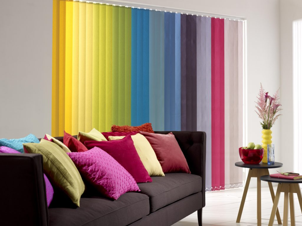 Living Room Awesome Blinds For Windows With Colorful 1 2 Mini Inch