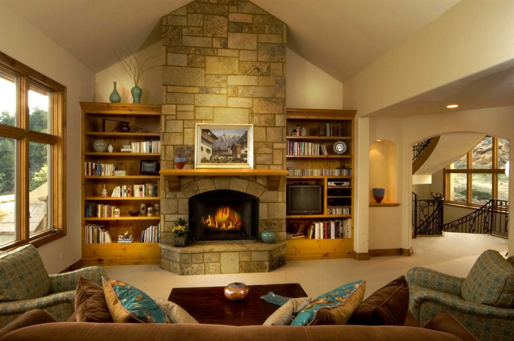 Living Room Breathtaking Living Room With Fireplace Cool Hd9a12 From