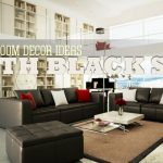 Living Room Ideas Black Furniture