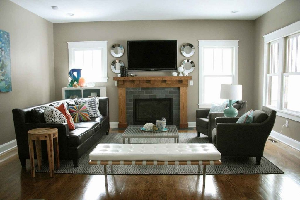 Living Room Fireplace And Tv For Living Room Furniture Layout Best