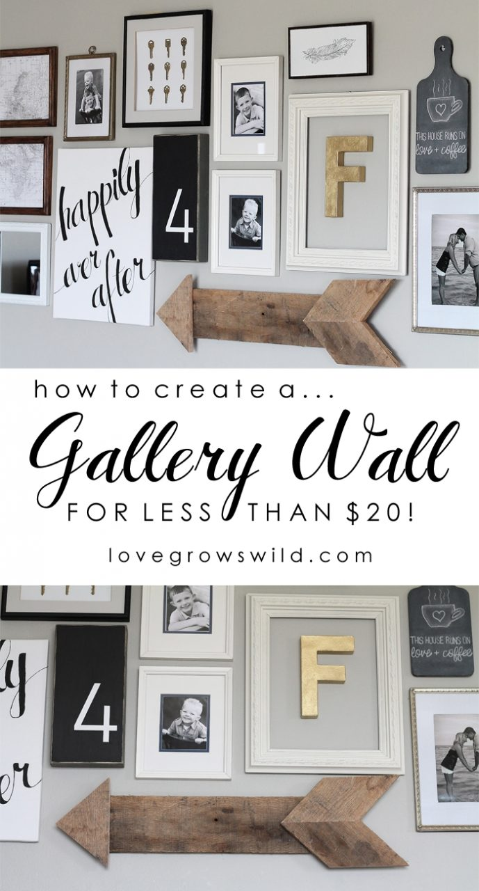 Living Room Gallery Wall Pinterest Gallery Wall Budgeting And