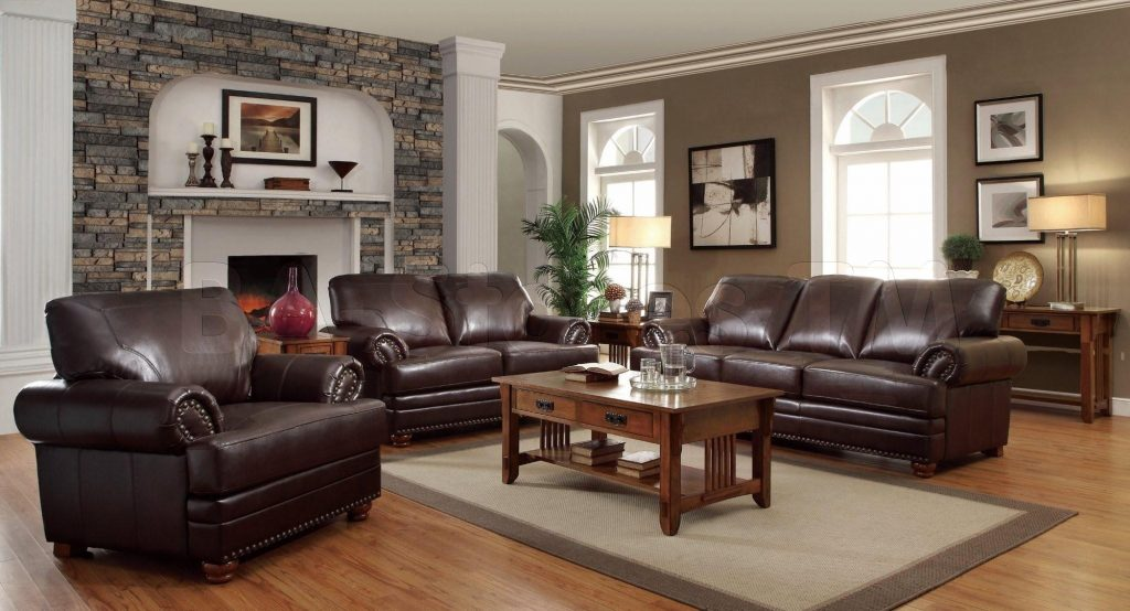 Living Room Ideas Dark Brown Couch Home Design 2018