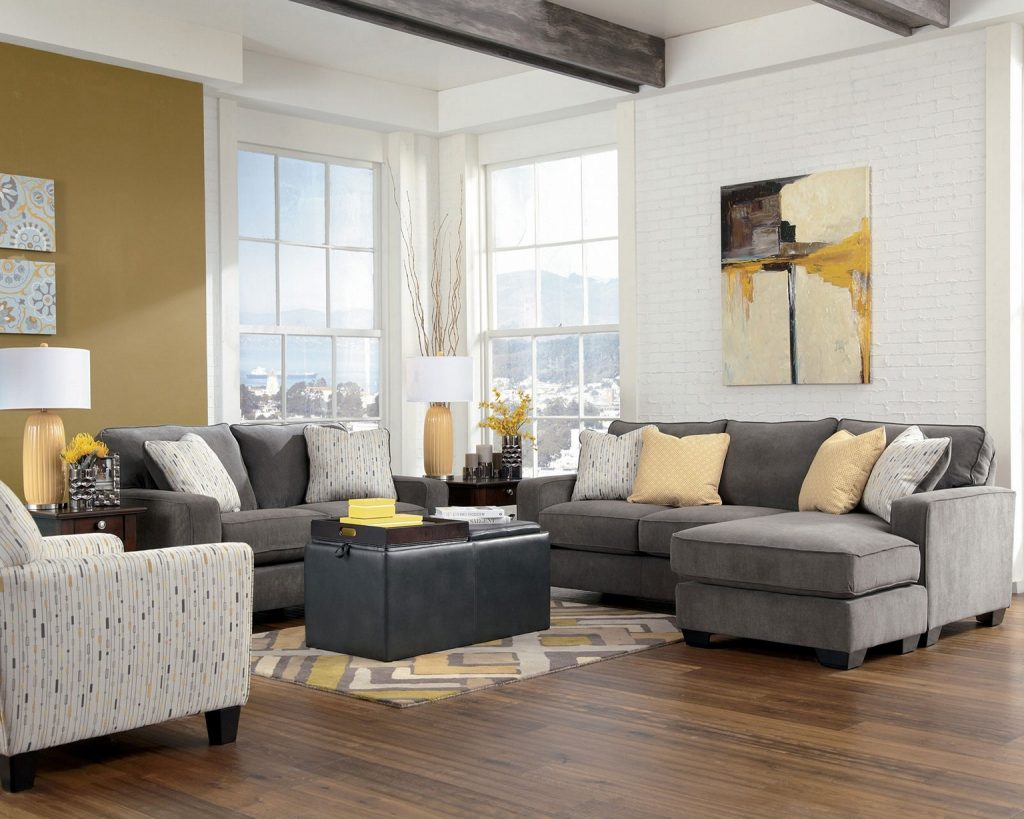 Living Room Layout And Decor Rooms In Grey Couch Decorating Ideas