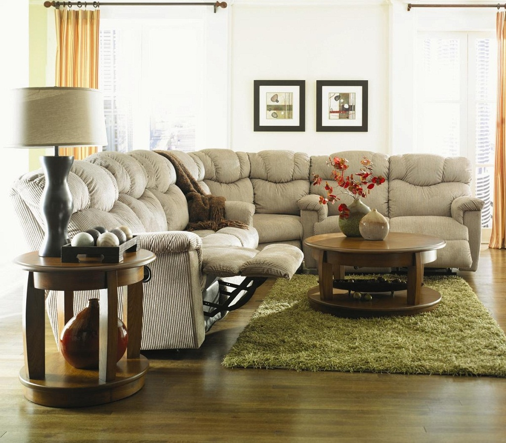 Living Room Simple Beige Lazy Boy Corner Unit For Sectional Sofa