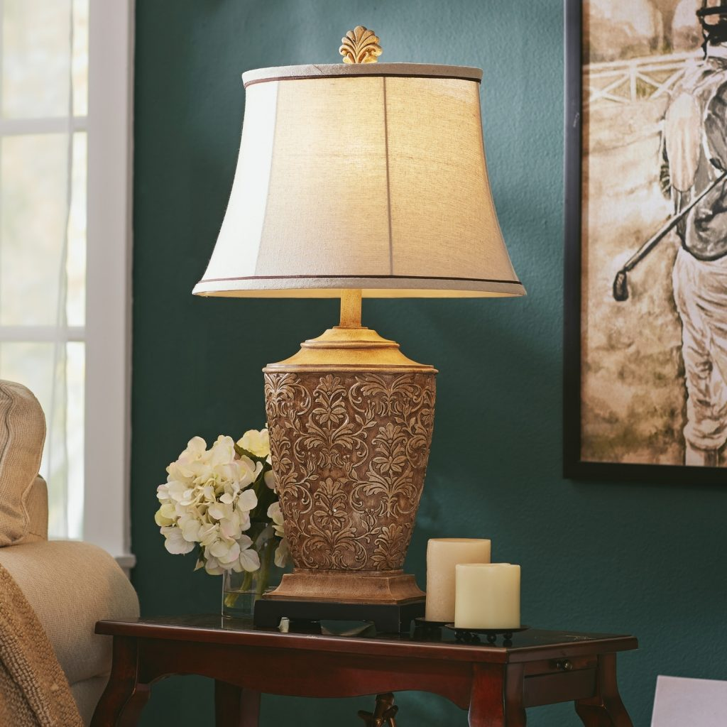Living Room Table Lamps 10 Methods To Bring Incandescent Pewter