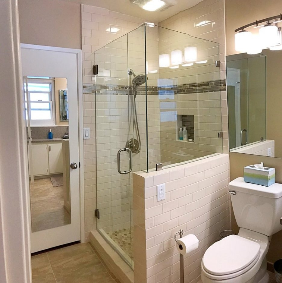 Long Beachthroom Remodel Contractors Cabathroom Remodeling O After