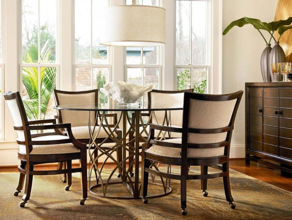 Lovely Dinette Sets With Rolling Chairs 12 Sweetlimonade