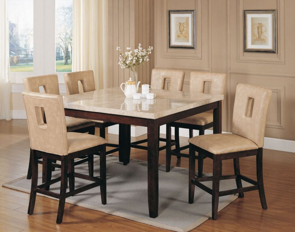 Lovely Square Dining Table Set 25 Round For 4 Wood Expandable Glass