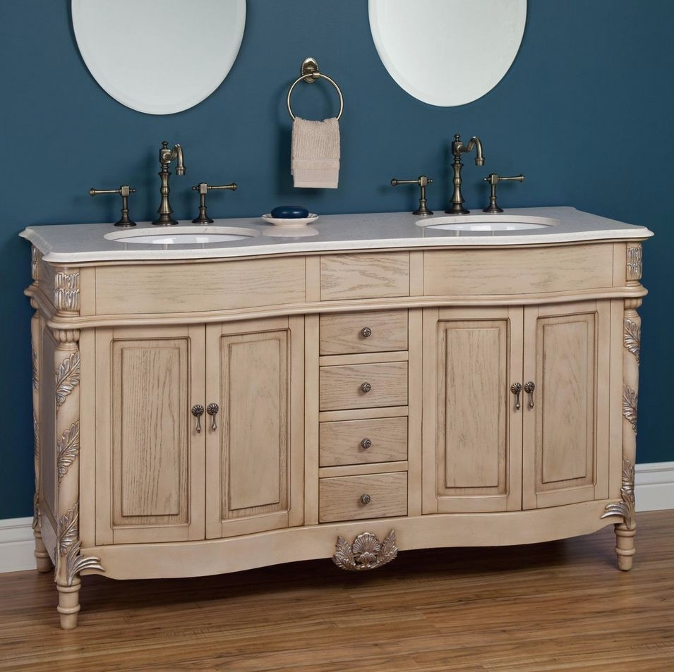 Luxury Antique Bathroom Vanities Vancouver Bc F73x About Remodel Wow