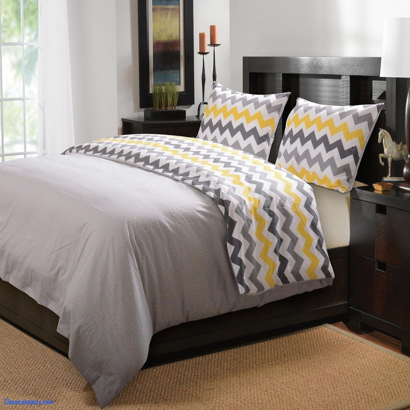 Luxury Pictures Of Yellow And Gray Bedrooms Ideas Best Home Design Layjao
