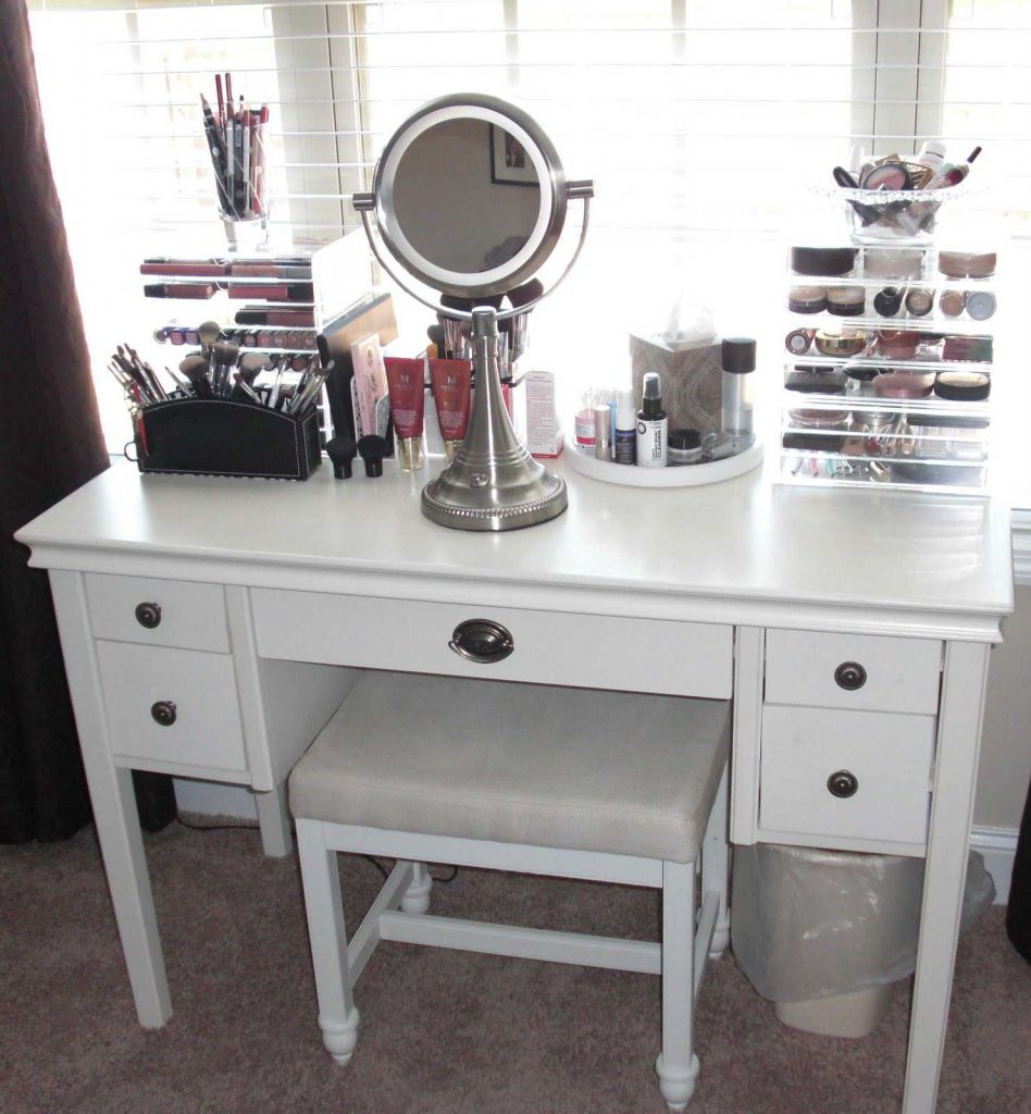 Makeup Vanities For Bedrooms Trends And Charming Bedroom With