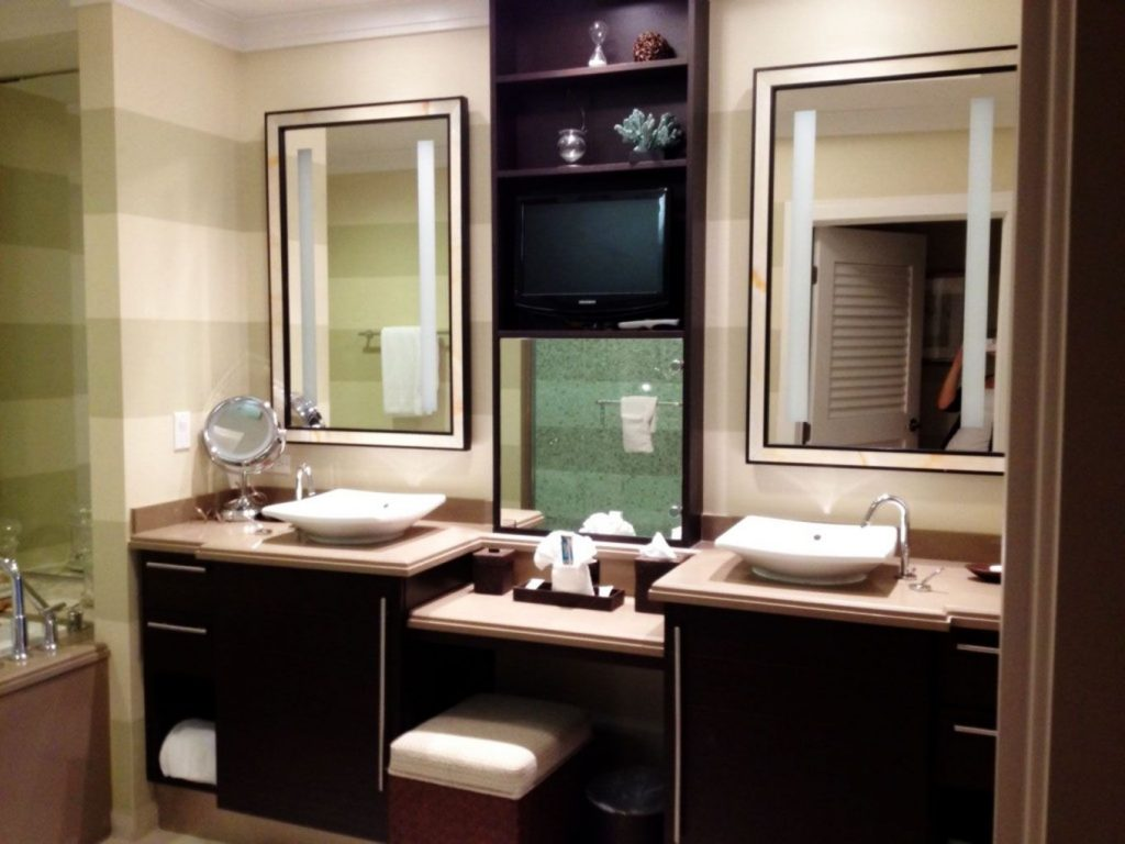 Makeup Vanity Of Furniture Bathroom Vanities With Makeup Area Double