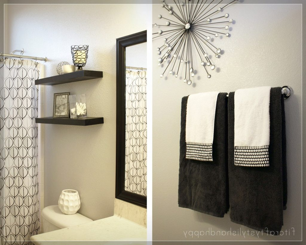 Manificent Decoration Bathroom Wall Decor Ideas Simple On Small