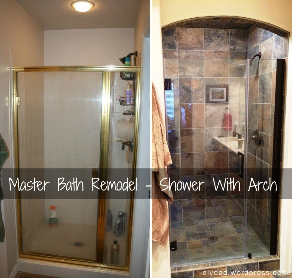 Master Bath Remodel Shower Phase Diy Dad