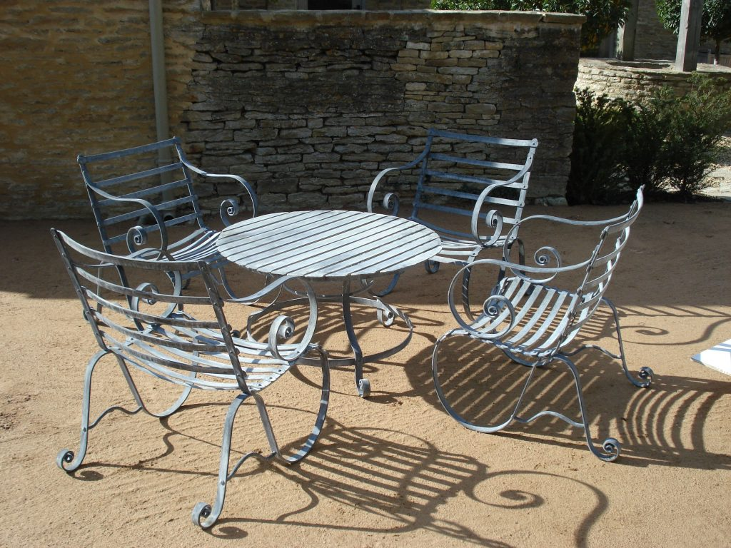 Metal Outdoor Furniture Plain Metal For Metal Outdoor Furniture