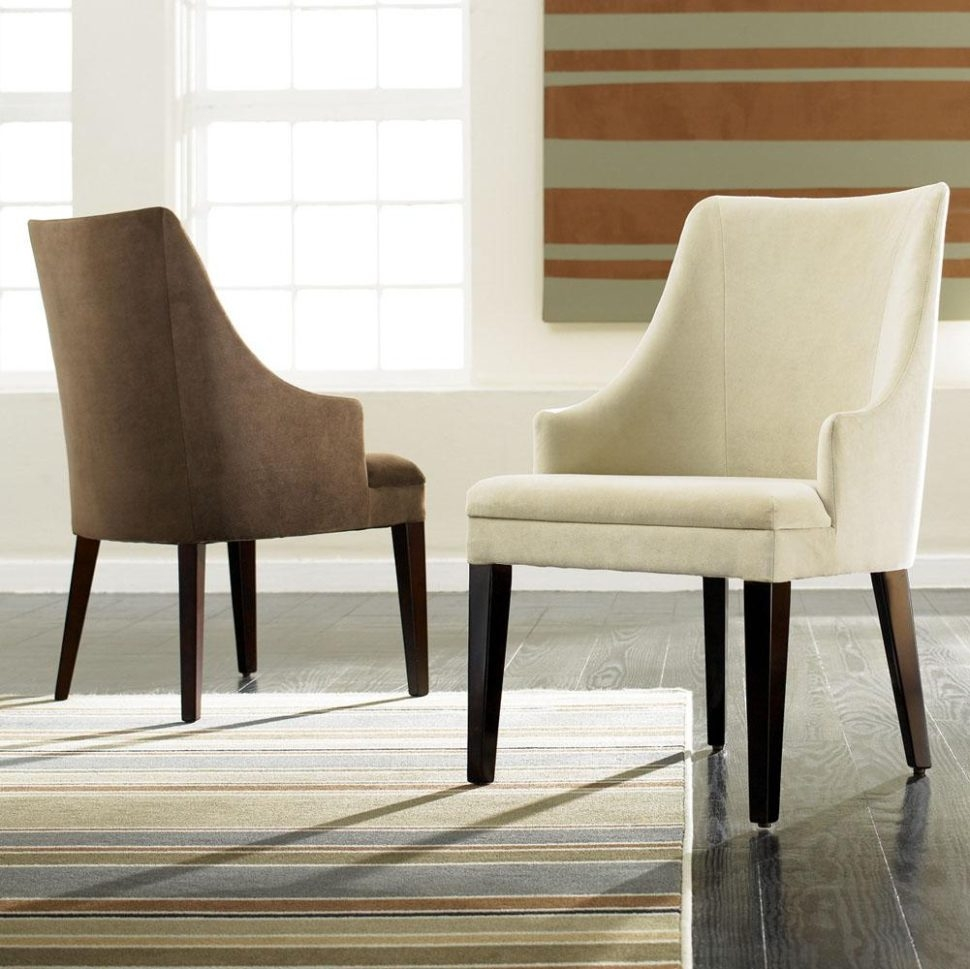 Minimalist Dining Room Perfect Modern Dining Room Chairs With Arms