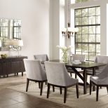 Modern Dining Room Grey Modern Dining Room Grey U Activavidaco