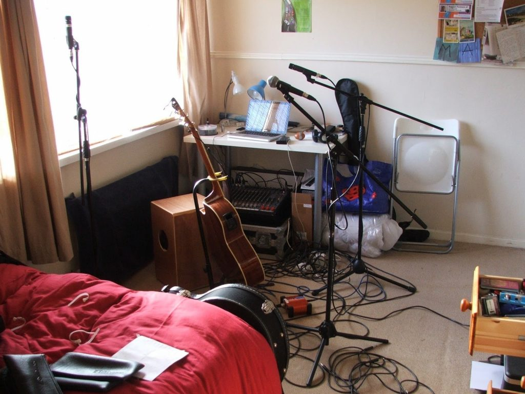 Modern Home Recording Studio Setup Keytarhq Music Gear Reviews At