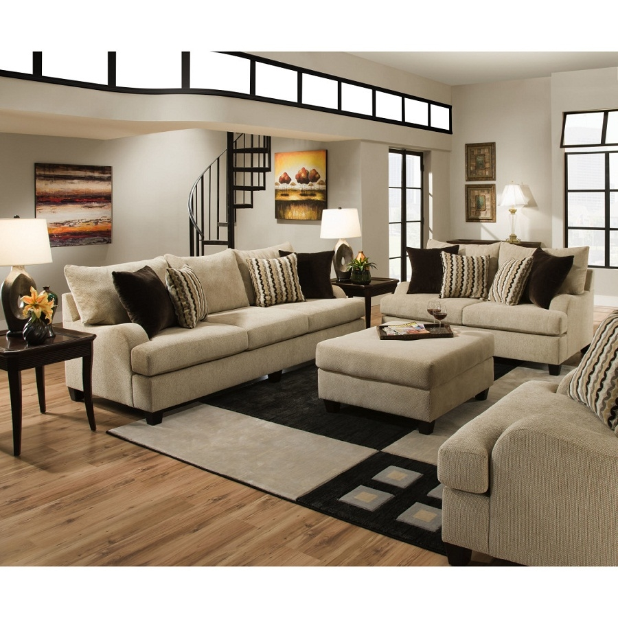 More Exciting Living Room Furniture Arrangement