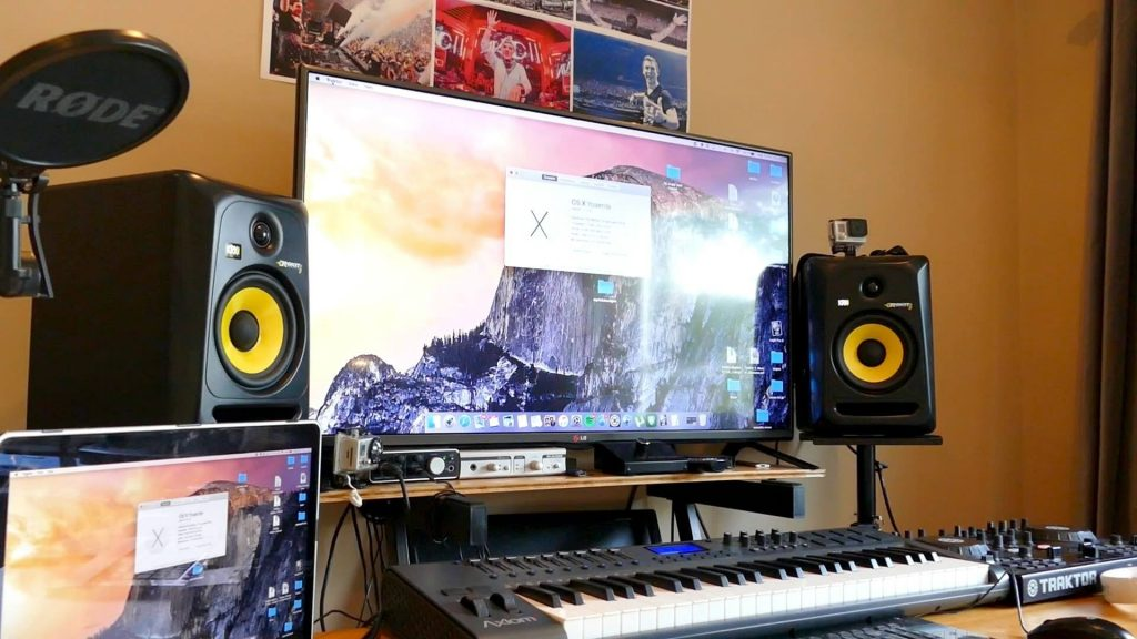 My Home Recording Studio 2015 Setup Tour Youtube