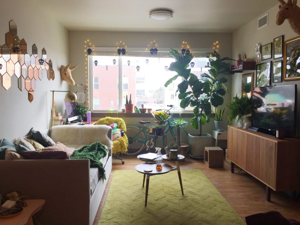 My Plant Filled Midcentury Ish Eclectic Living Roomoffice Space Imgur
