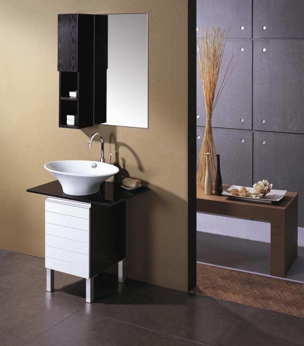 Narrow Bathroom Vanities Small Bathrooms Cosmosindesign