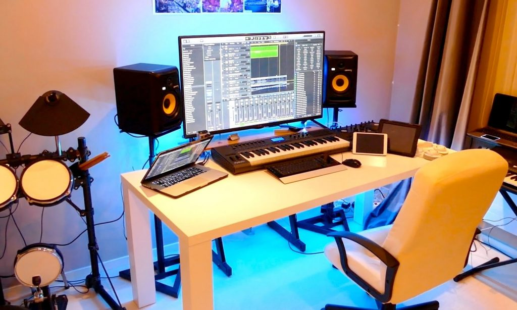 New Home Recording Studio Tour 2015 Youtube