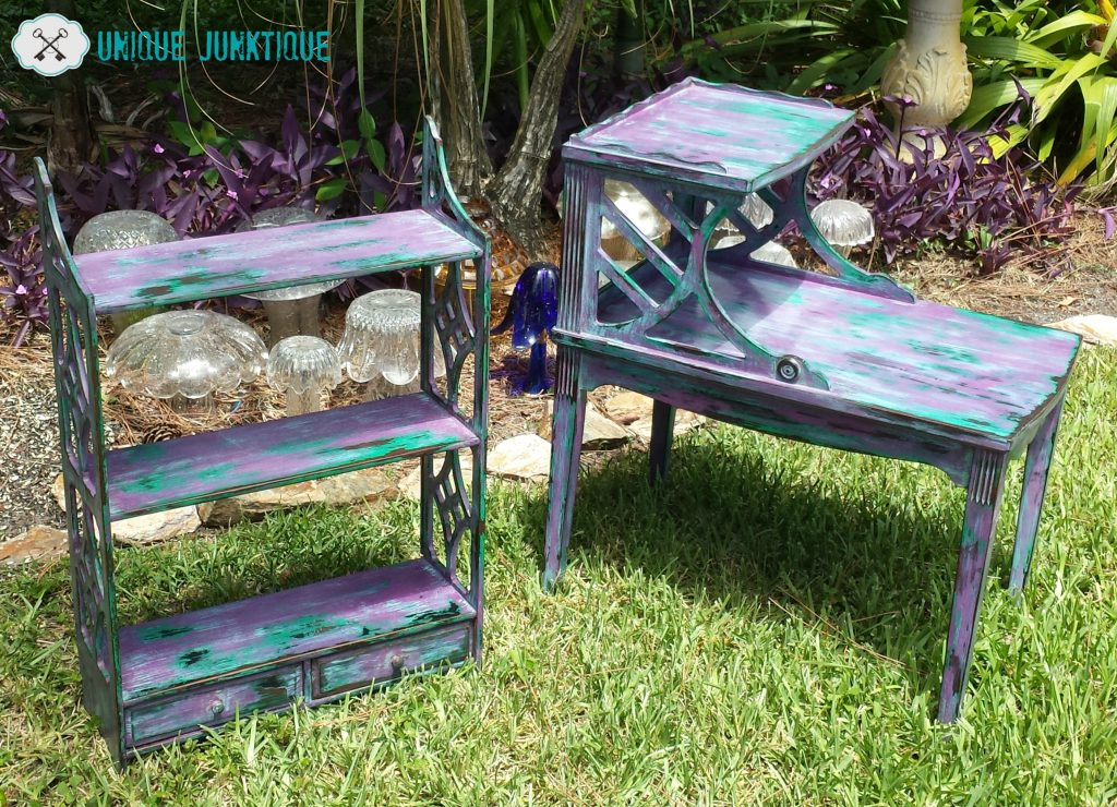 New Orleans Inspired Funky Furniture Duo