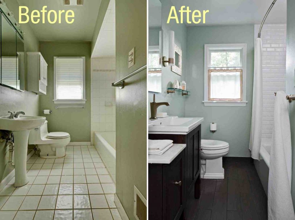 Nice Bathroom Upgrade Ideas Fascinating 18 Paint For Small Funky Bin