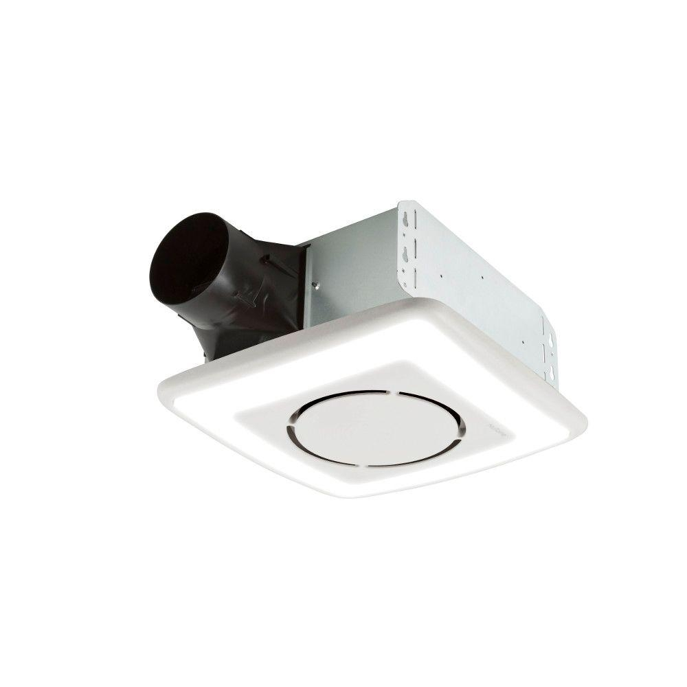 Nutone Invent Series 110 Cfm Ceiling Exhaust Bath Fan With Light And