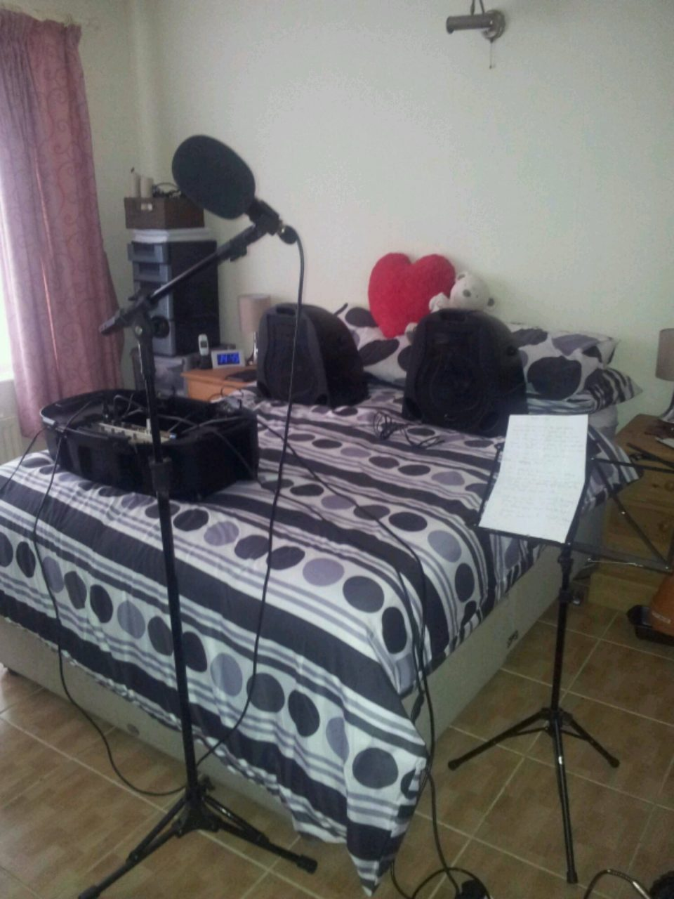 One Mans Bedroom Is Another Mans Recording Studio Mark Ramsey