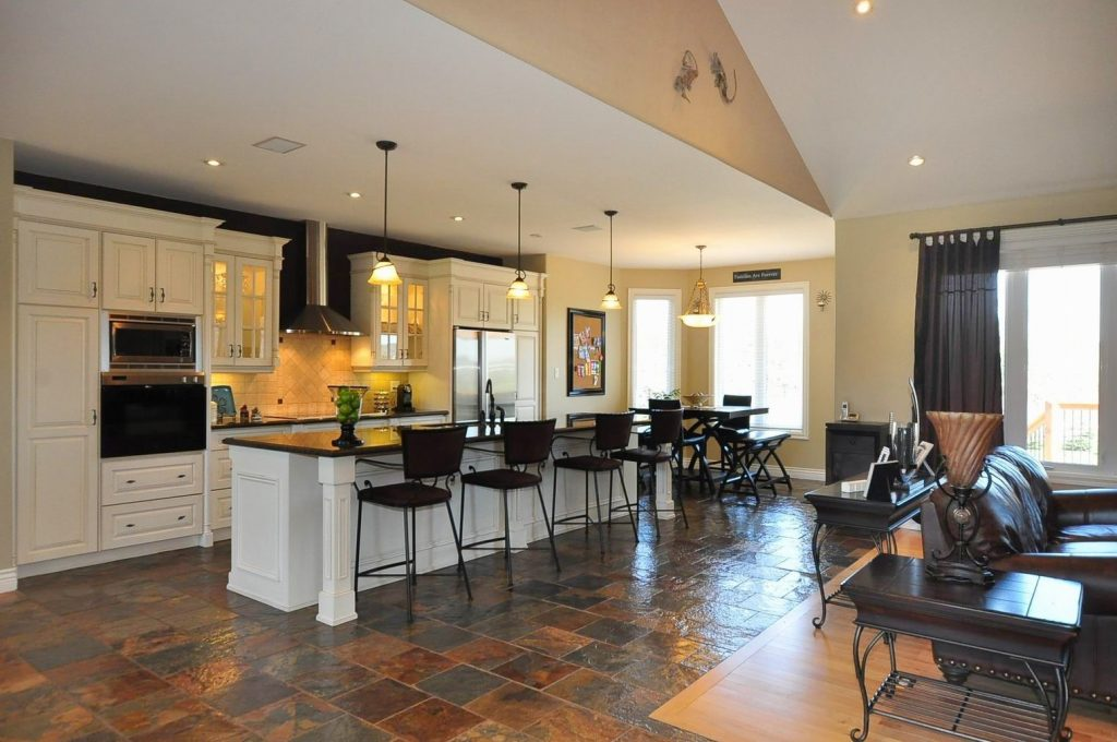Open Floor Plan Kitchen And Living Room Open Floor Plan Kitchen And