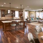 Living Room Kitchen Open Floor Plan