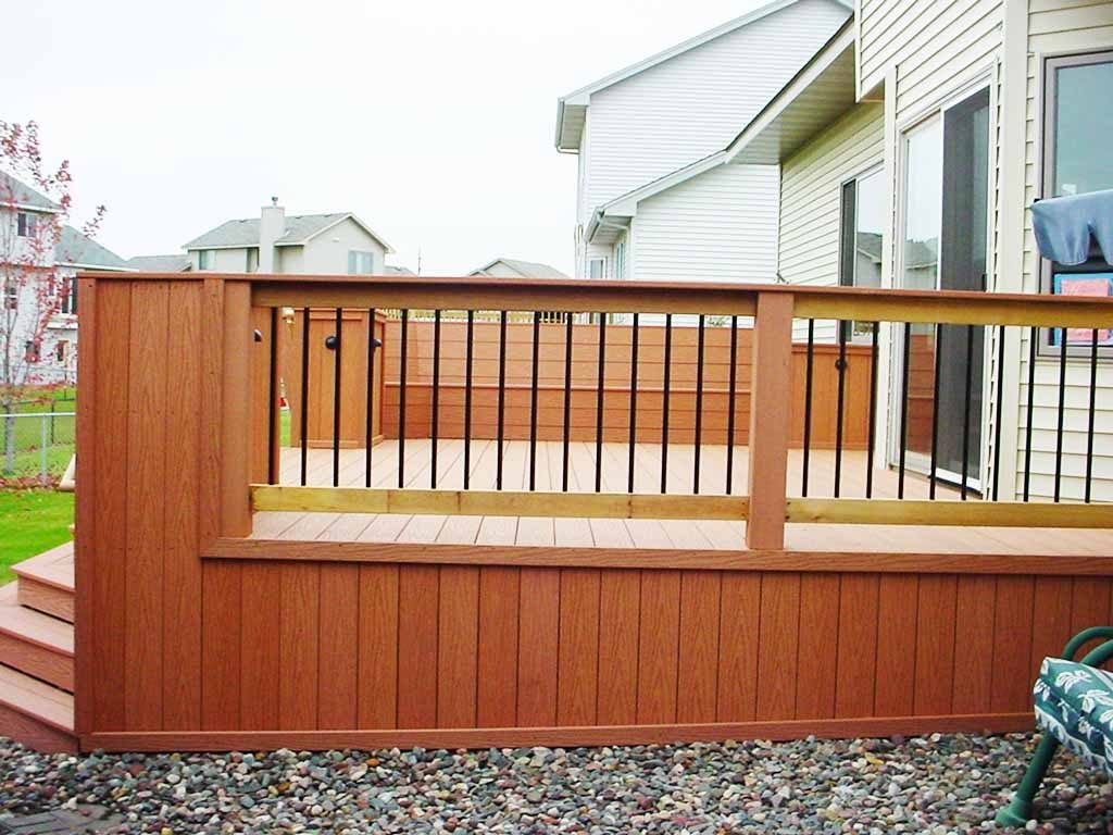Outdoor Deck Design Patio Railing Designs The Metal Ideas For Home