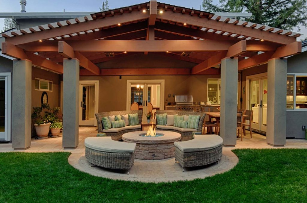 Outdoor Entertainment Area Design Ideas Home And Design Ideas