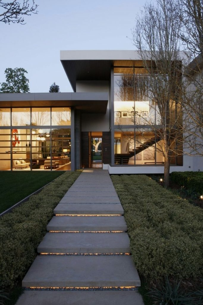 Outdoor Of Modern Interior Design For Big House Home Building