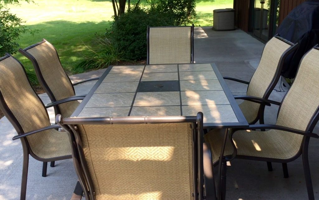 Outdoor Patio Furniture Jacksonville Fl 9 Piece Outdoor Dining