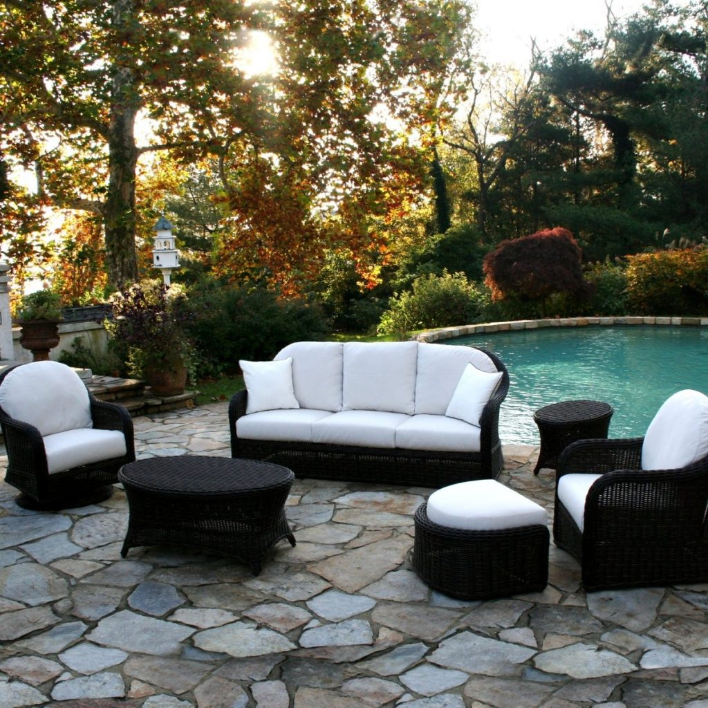 Outdoor Sofa 6pcs Sectional Captivating Outdoor Patio Furniture Las