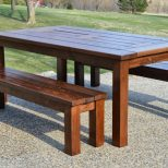 Outdoor Table And Bench Seat Plans Outdoor Designs