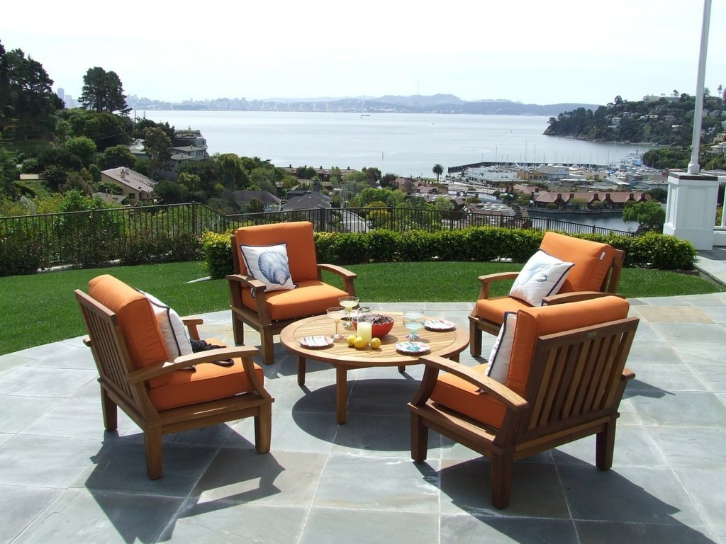 Outdoor Teak Furniture Faqs Teak Patio Furniture World Intended For