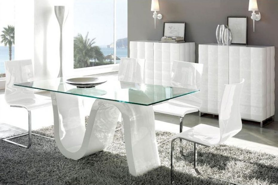 Outstanding Modern Kitchen Table Set 9 Pretty Contemporary Dining