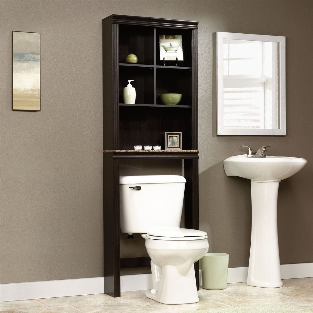 Over Toilet Bathroom Storage Cabinet Shelves Cub Etagere