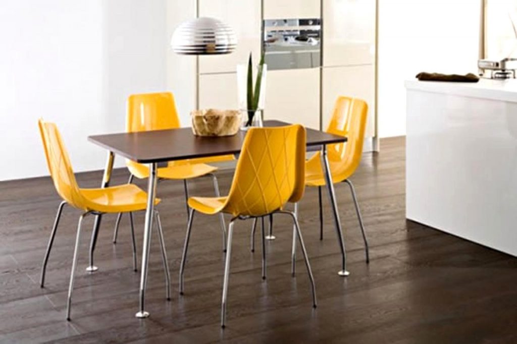Overwhelming Contemporary Yellow Dining Chair Contemporary Dining