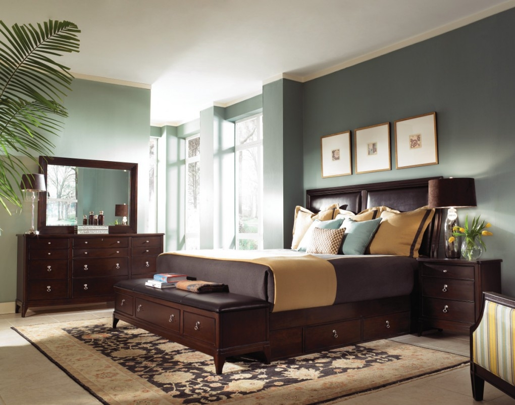 Paint Colors For Bedrooms With Dark Wood Furniture Memsaheb In