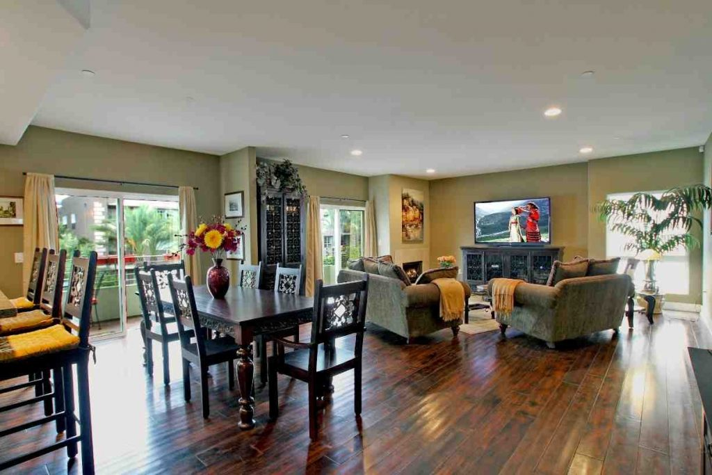 Paint Ideas For Open Living Room And Kitchen Decor Warm Paint Colors
