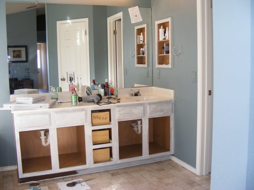 Painting Bathroom Vanity Ideas Top Bathroom Choose Color