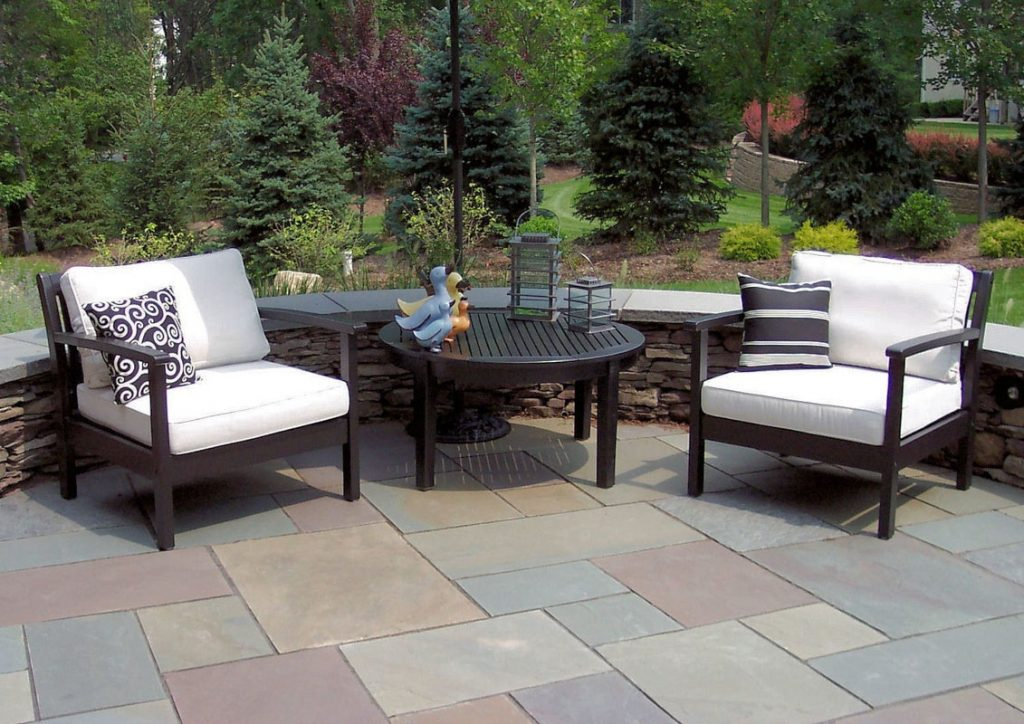 Patio Furniture On The New Front Patio Watchung Nj Clc