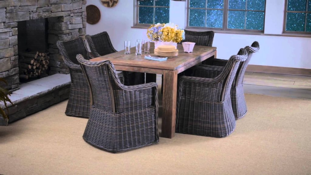 Patio Furniture That Can Be Used Indoors And Outdoors Allen Roth